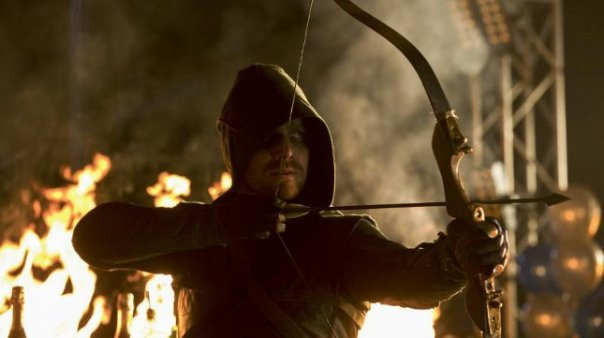 Arrow Episode 10 Burned Hot