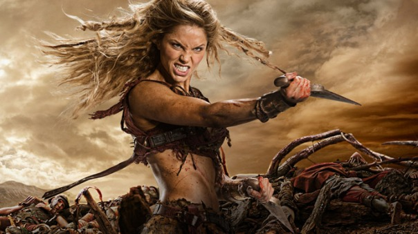 Spartacus War of The Damned Saxa Ellen Hollman Hot