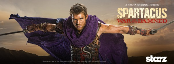 Spartacus War of The Damned Spartacus Purple Cape