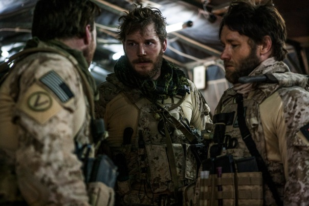 Zero Dark Thirty Chris Pratt and Joel Edgerton