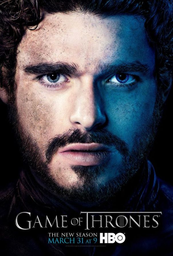 Game Of Thrones Season 3 Poster Robb Stark