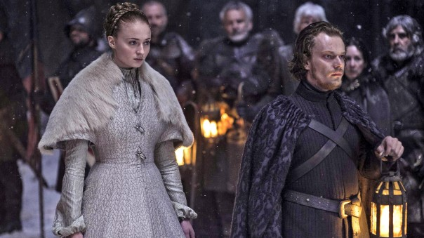game of thrones season 5 episode 6 Sansa and Theon Wedding Night